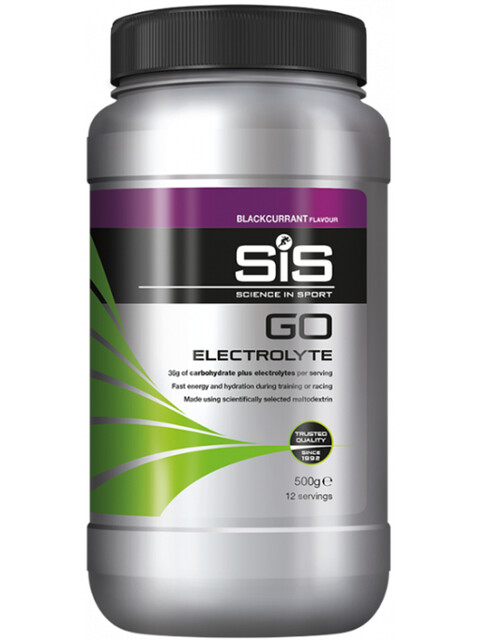 SiS GO Electrolyte - Nutrition sport - Blackcurrant 500g